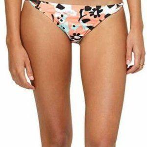Roxy DVF 621837 Binded Surfer Beach Bikini Bottom